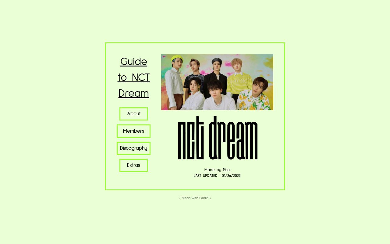 nctdreamgroupguide.carrd.co